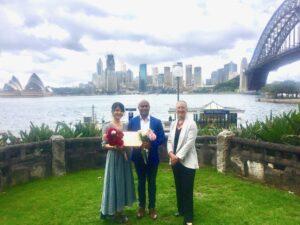 budget wedding copes lookout bradfield Park Milsons point