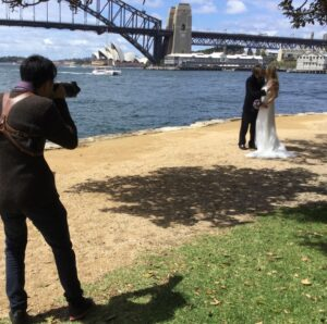 Budget wedding sydney harbour
